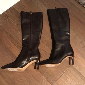 Via Spiga boots - brown color- leather